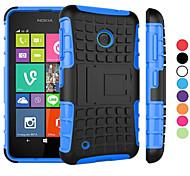 Caso 2 in 1 a due colori staccabile tpu + pc ibrido con kickstand per Nokia Lumia 530 (colori assortiti)