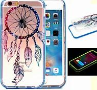 2-in-1 bunte Windspiele Muster tpu rückseitige Abdeckung mit pc Autostoßfest Hülle für iPhone 6 / 6S