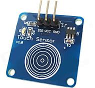 sensor de toque módulo de switch de toque capacitivo para arduino - azul