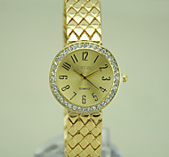 Ladies' New Fashion Classic Rhinestone High Quality Steel Watch