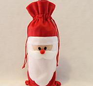 Санта-Клаус мешок вина отец рождественский подарок мешок рождественские украшения 1шт