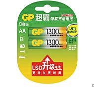 batterie rechargeable gp130aahc-2il2 1300mah lr6