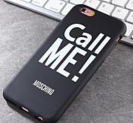 Super Popular Brands High-Grade Electric Me TPU Soft Phone Case for iPhone 6/6S