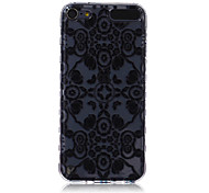 LOGROTATE®Anti-skidding Design 3D Flowers Pattern TPU Soft Case for iPod Touch 5/6