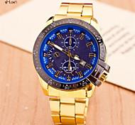Men's Fashion Steel Band Quartz Anolog Wrist Watch(Assorted Colors)