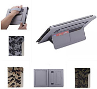 Ultrathin Camouflage Style Leather Case Fashion Cool With Belt Card Holder Case for iPad 4/3/2