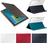 Для Кейс для  Samsung Galaxy со стендом / Флип / Магнитный Кейс для Чехол Кейс для Один цвет Искусственная кожа SamsungTab S 8.4 / Tab S