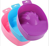 1Pcs Manicure Tool Manicure Foam Hand Bowl With a Bowl Of Hand Care Softening Cutin Color Random Delivery