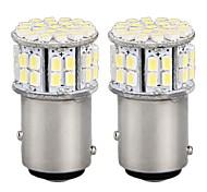 2* Car 1016 1157 BAY15D Tail Brake Parking Stop Bulb Lamp 3528SMD White 50 LED Light 12V
