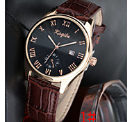 Men's Fashion New Korean Business Casual Fashion With Calendar Watch