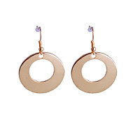 European Style  Brief Loops Alloy Earrings