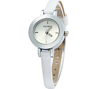 XICOO 474 Slim Leather Band Quartz Watch for Women Cool Watches Unique Watches Fashion Watch