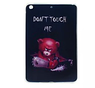 Chainsaw Bear Painted TPU Tablet computer case for ipad mini1/2/3