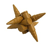 Educational Wood Bullet Interlock Toy