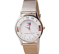 moda moda cinturón de malla de relojes europeos y americanos de venta del comercio de plata fina de los hombres