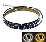 Jiawen 100CM 4W 60x3528SMD White/Warm white Light LED Strip Lamp for Car and Cabinet (DC 12V)
