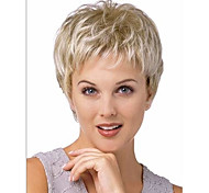 superior em venda quente qualidade peruca loira curta syntheic