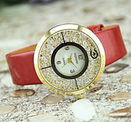 Ladies' European Style Fashion Acrylic Shiny Quicksand Watch Gift