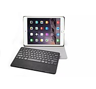 "For  iPad Pro 12.9""Magnetically Detacable ABS Bluetooth Keyboard Portfolio Muti-angle Folio PU Leather Cases Smart Cove"