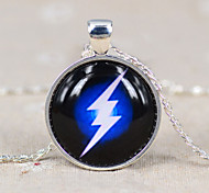 HUALUO®Cheap Retro Time Gem Necklace Flash