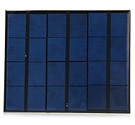 3.5W 6V USB Output Monocrystalline Silicon Solar Panel for DIY