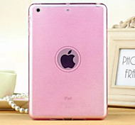 Glitter High Quality Translucent TPU Soft Shell For iPad Mini 3/2/1