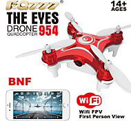 New Arrival FQ777 954 Nano RC Quadcopter Nano WIFI Camera Drone FPV 6AXIS GYRO With HD Camera FPV BNF