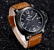 SKONE Watches Men Brand Real Small Second Dial Calendar Display Big Dial Men Watch