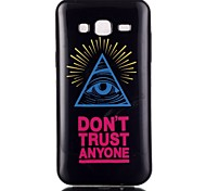 Color triangle eye Pattern TPU Phone Case for Galaxy On5/Galaxy On7/Galaxy J3