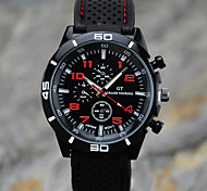 Men's Fashion Sport Silicone Watch Gift