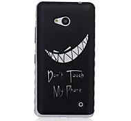 non toccare il mio modello di telefono TPU custodia morbida per Nokia 640