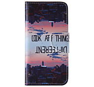 The New City PU Leather Material Flip Card Cell Phone Case for iPhone 6 /6S