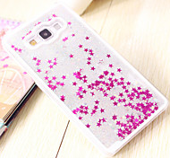 Fun Glitter Star Liquid Back Quicksand Transparent Clear PC Hard Cover For Samsung Galaxy A5/A7