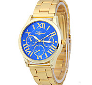 The Male Female Models of Rome Digital Scale Circular Steel Sheet With Chinese Fashion Watch Movement(Assorted Colors)
