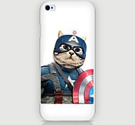 One Cat Pattern PC Phone Case Back Cover Case for iPhone5C