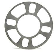 nueva universales rueda espaciador 4 hoyos adaptador de 8mm de ruedas de aluminio de espesor tirol t12850 ajuste 4 lug 4x101.6 4x108