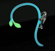 Punhos da orelha Liga fluorescência Jóias Para Casamento Festa 1peça