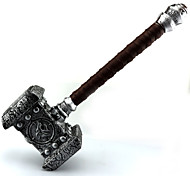 Inspired by World of Warcraft The Shattering-Prelude to Cataclysm Weapon Props Cosplay Hammer