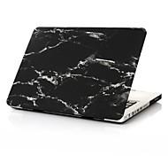 """nueva mármol negro recubierto de goma cubierta de la caja dura super cool para el aire del macbook de 11 """"/ 13"""""""