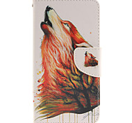 LG G3 PU Leather / TPU Full Body Cases / Cases with Stand Graphic / Special Design case cover