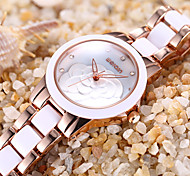 WEIQIN Brand Watches Woman Rhinestone Crystal Flower Hollow Fashion Watch Women Ladies Dress Wristwatch