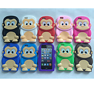 Cute Cartoon Shell Silicone Sets Mobile Phone Protection Shell For iPhone 6 (Assorted Color)