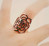 European And American Punk Style Lady Hollow Flower Ring
