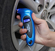 lcd digitales herramienta barómetros manómetro metros medidor de presión de aire del neumático del neumático de coche probador