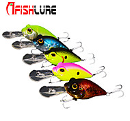 "Afishlure Hard Bait Crank 16g 5/8 oz 60 mm 2-3/8"" inch 2pcs/lot Artificial Lure Sea Fishing/Fly Fishing/Bait Casting"