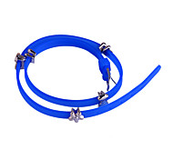 European Style Bowknot Plum Blossom Silicone Bracelet
