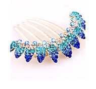 Z&X® Fashion Vintage  Hair Combs Wedding / Rhinestone Party / Daily 1pc