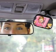 tirol t22614 mini auto bambino specchietto 2 in 1 / posteriore della vettura di sicurezza del bambino specchio convesso per auto bambino