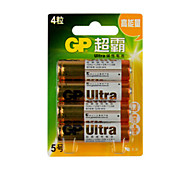 LR6 GP Batteries AA 1,5V ménagers 4pcs