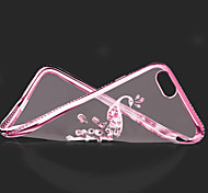 Electroplate With Back Case For Iphone 6/6S